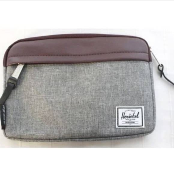 Herschel Toiletry bag Grey Small Canvas Virgin Atl